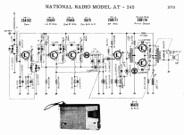 National AT-245; Panasonic, (ID = 1689248) Radio