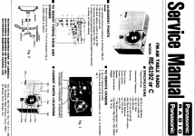 RE-6192 & RE-6192C; Panasonic, (ID = 778154) Radio