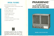 RE-7671C & RE-767C; Panasonic, (ID = 2031016) Radio