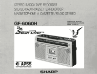 The Searcher GF-6060H; Sharp; Osaka (ID = 2520737) Radio