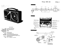 6R-22; Sony Corporation; (ID = 1697329) Radio