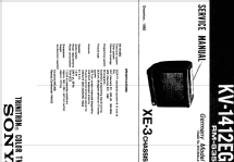 KV-1412EG; Sony Corporation; (ID = 2052820) Television