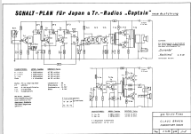 Captain Deluxe D - 8 Transistor W 178 ; Yashima Electric (ID = 898342) Radio