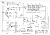 Regulated Power Supply 50 Equipt Lambda Electronics