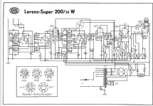 Super 200/38W; Lorenz; Berlin, (ID = 70448) Radio
