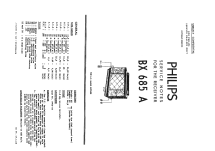 BX685A; Philips; Eindhoven (ID = 952036) Radio