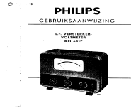 GM6017; Philips; Eindhoven (ID = 1323842) Equipment