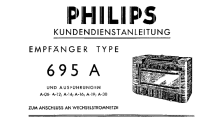 695A-12; Philips; Eindhoven (ID = 453004) Radio