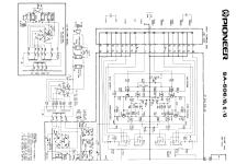 Stereo-Amplifier SA-506 Ampl/Mixer Pioneer Corporation;