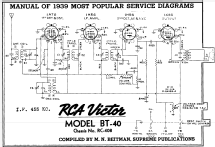 BT40 Ch= RC408; RCA RCA Victor Co. (ID = 203825) Radio
