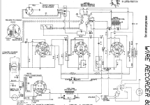 wire recorder 80 r player webster co the webster chicago rh radiomuseum org Air King Wire Recorder silvertone wire recorder schematic