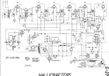 UHF-Receiver S-27; Hallicrafters, The; (ID = 18402) Amateur-R