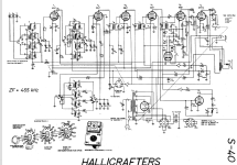 S-40 ; Hallicrafters, The; (ID = 18393) Amateur-R