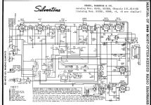 silvertone order 57dm 8102 8104 ch radio sears roebuck silvertone order 57dm 8102 8104 ch 101 814 2b sears roebuck
