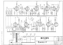 Ecc 2 T7E R-Player Binson; Milano, build 1962– Binson Ecc Schematic on