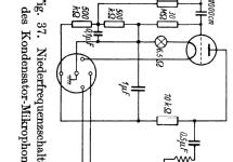 Kondensator-Mikrofon Ela-MZ-027/1 Microphone/PU Telefunken