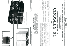 early 51; Crosley Radio Corp.; (ID = 666156) Radio