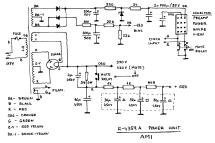 stereo amplifier r-4359a ampl/mixer ami entertainment,, Schematic