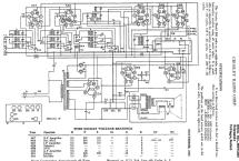 Merrimac 855 Radio Crosley Radio Corp.; Cincinnati OH, build