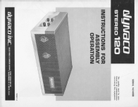 Stereo 120 ST-120; Dyna Co. Dynaco; (ID = 1430315) Ampl/Mixer