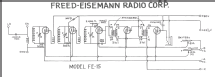 FE15 ; Freed-Eisemann Radio (ID = 218350) Radio