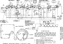 T155A ; General Electric Co. (ID = 52828) Radio