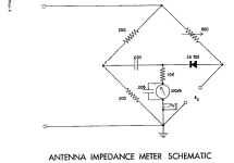 Antenna Impedance Meter AM-1; Heathkit Brand, (ID = 127257) Equipment