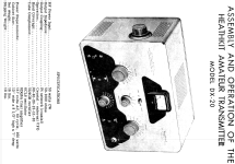 DX-20; Heathkit Brand, (ID = 126011) Amateur-T
