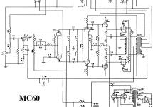 MC-60 A-121 Ampl/Mixer McIntosh Audio Company