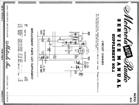 MOPAR De Soto 804 Car Radio Motorola Inc.; Schaumburg IL, bu