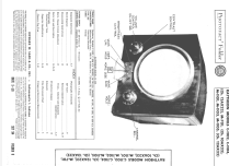 M-1101 Ch= 12AX22; Raytheon Mfg. Co.; (ID = 1666454) Television