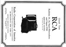 Radiola Superheterodyne AR-812 Radio RCA RCA Victor Co.