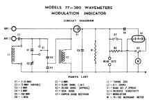 Wavemeter - Modulation Indicator 380 ; Simpson Electric Co. (ID = 1547703) Equipment