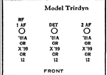 Trirdyn Regular 1121; Crosley Radio Corp.; (ID = 324003) Radio