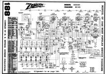 Transoceanic 8g005yt Ch 8c40 Radio Zenith Corp. Transoceanic 8g005yt Ch 8c40 Zenith Radio Corp Id. Wiring. Zenith Tube Radio Schematics 10g 130 At Scoala.co