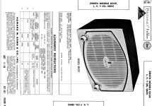 B513Y 'The Toreador' Ch= 5B01; Zenith Radio Corp.; (ID = 507951) Radio