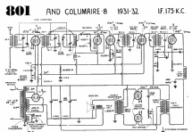 801 and Columaire 8 ; Canadian (ID = 598908) Radio