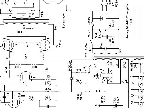 b mixer ampeg portaflex  build 1968  1 schematics  6