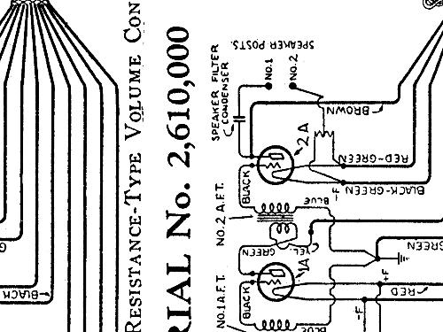 8970 model 33 panel radio atwater kent mfg  co   philadelphi