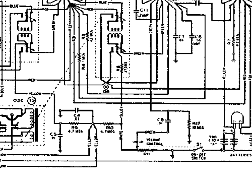 Boulevard Radio Schematic Diagram