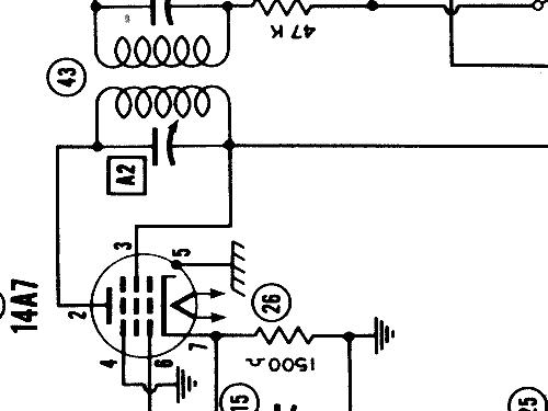 Bendix Car Radio Schematics