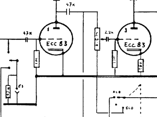 Ecc R-Player Binson; Milano, build 1960 ??, 1 schematics on