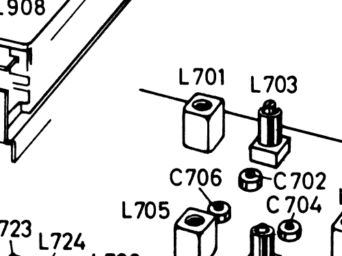 Stereo Tuner Amplifier St 666 7 628 414 Radio Blaupunkt Idea