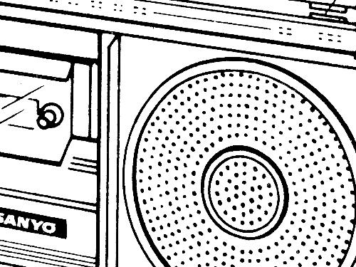 Radiocassette Recorder M2800 2h Radio Bpl India Bangalore