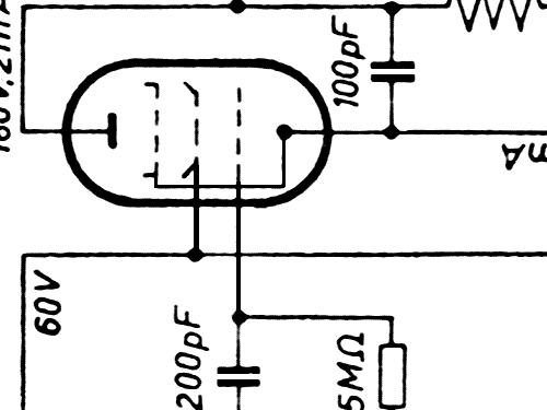 trumpf 535gl radio braun  frankfurt  build 1934  1 schematic