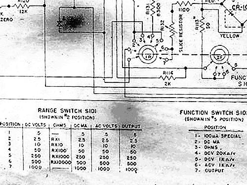 Military Analog Multimeter Me 70psm 6b Equipment Bruno Radi