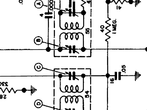 7253207 car radio cadillac div   build 1946  6 schematics  6