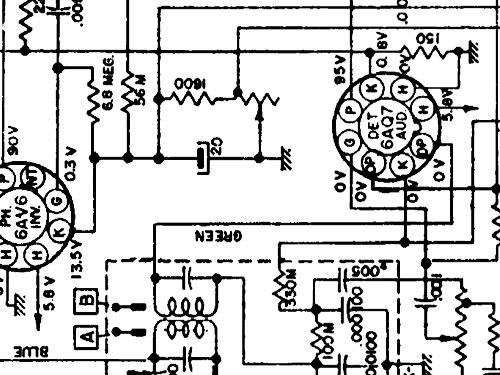 7260405 Car Radio Cadillac Div Build 1951 1 Schematics 9