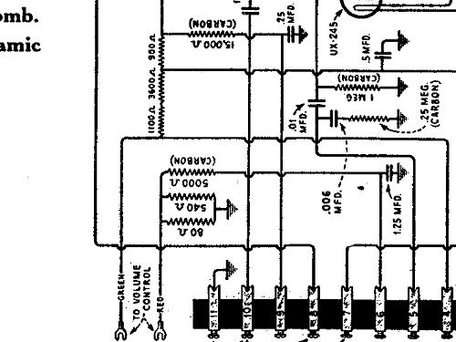 radiola 44 radio canadian general electric canada c g e  or