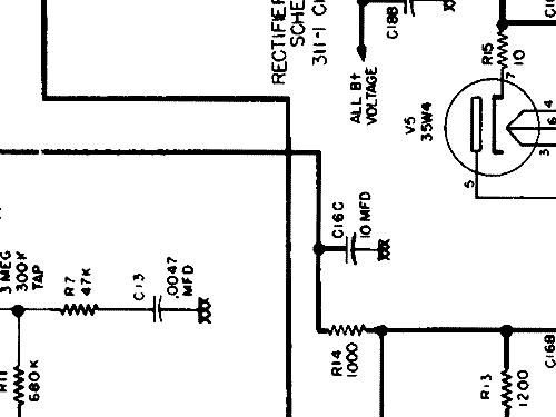 Crosley d25mn d 25mn 311 1 additionally S 11468 together with General el t151bt 151 musaphoni further 547a likewise Toptone sm100. on 12ba6 schematic